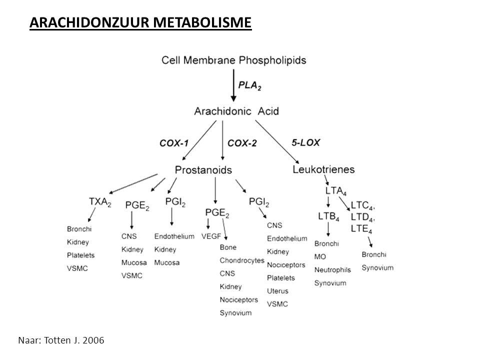 ARACHIDONZUUR METABOLISME
