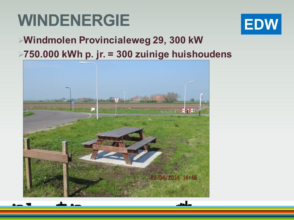 WINDENERGIE Windmolen Provincialeweg 29, 300 kW