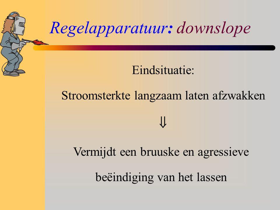 Regelapparatuur: downslope
