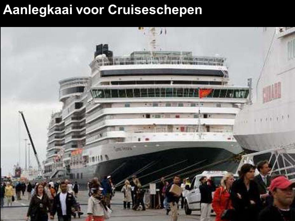 Aanlegkaai voor Cruiseschepen