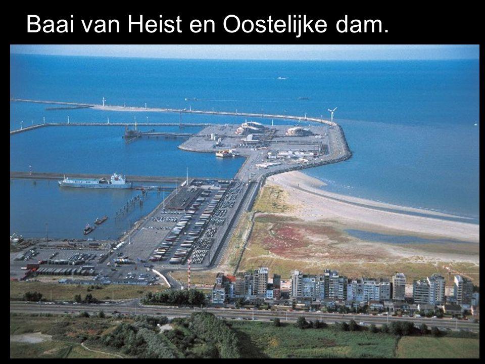 Baai van Heist en Oostelijke dam.