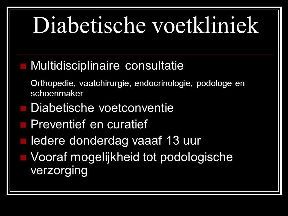 Diabetische voetkliniek