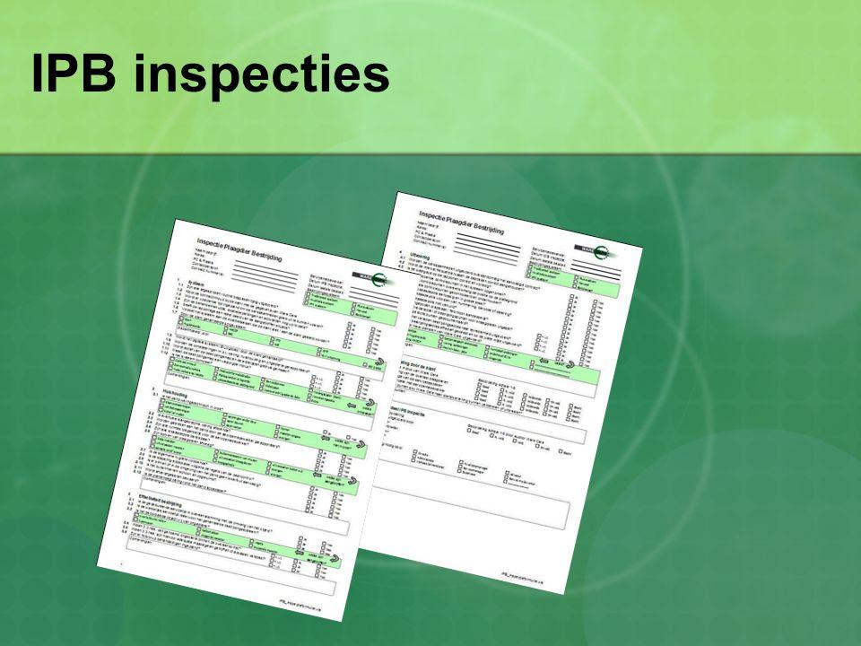 IPB inspecties
