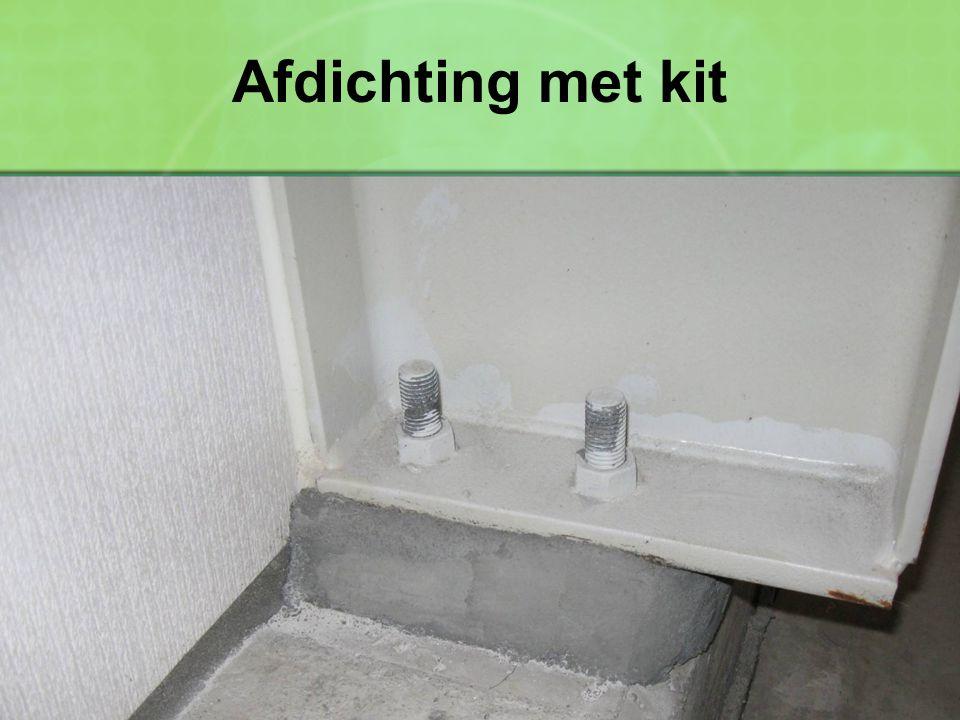 Afdichting met kit