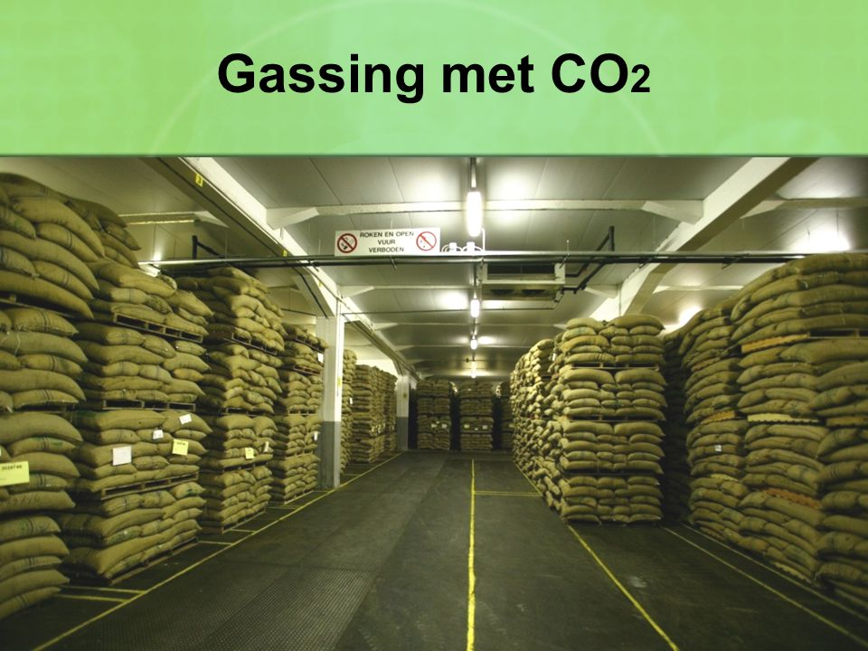 Gassing met CO2