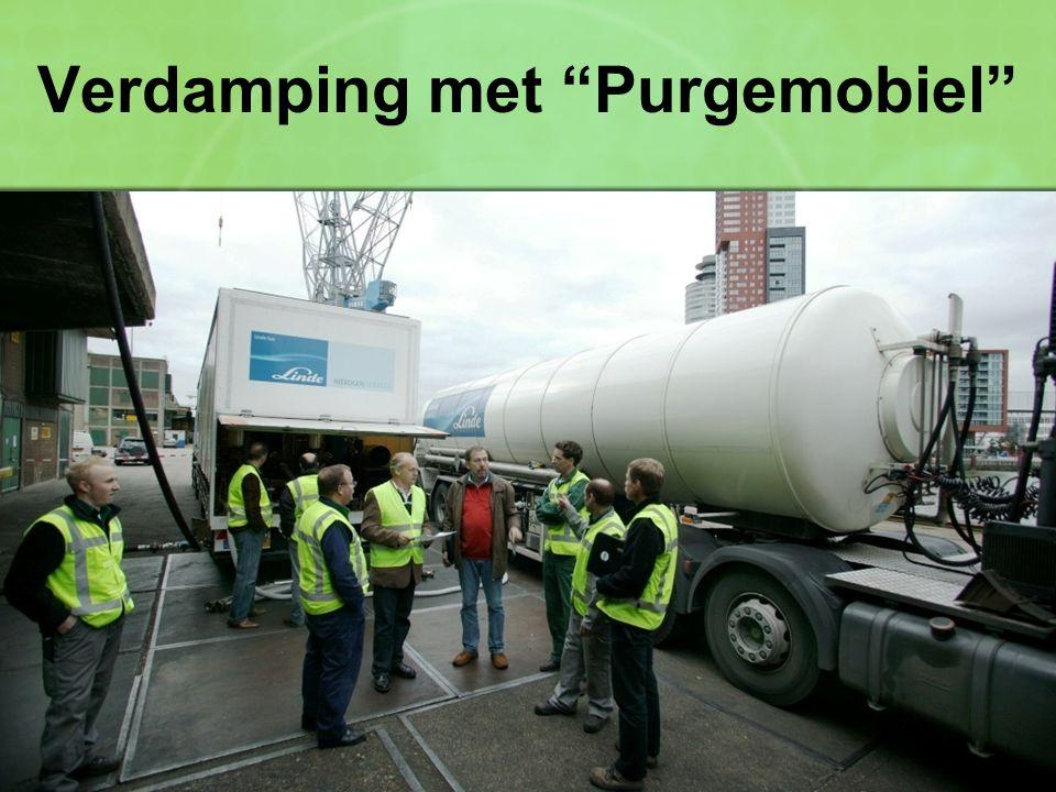 Verdamping met Purgemobiel