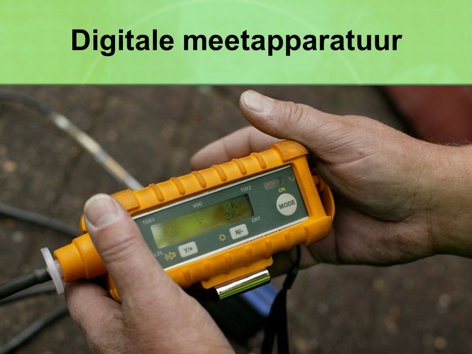 Digitale meetapparatuur