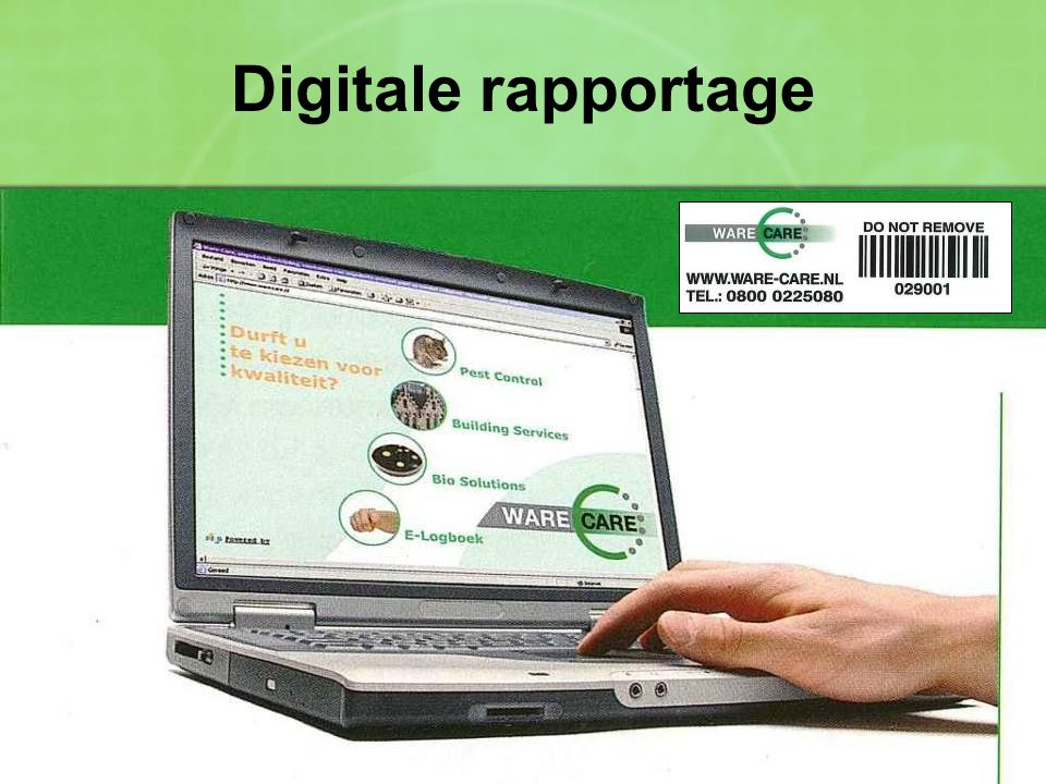 Digitale rapportage