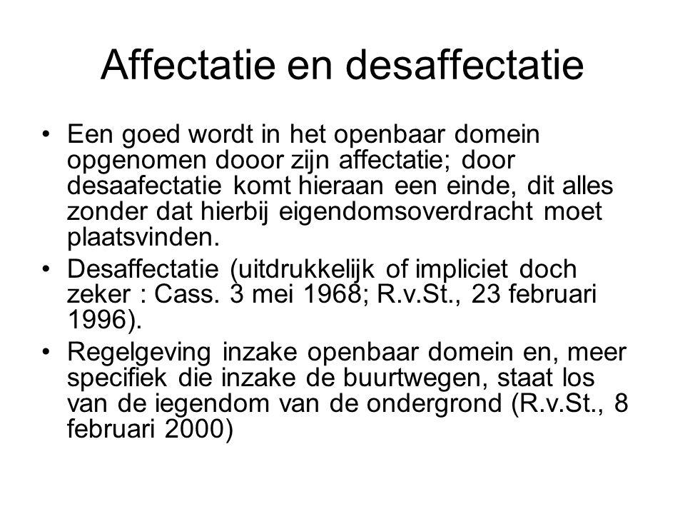 Affectatie en desaffectatie