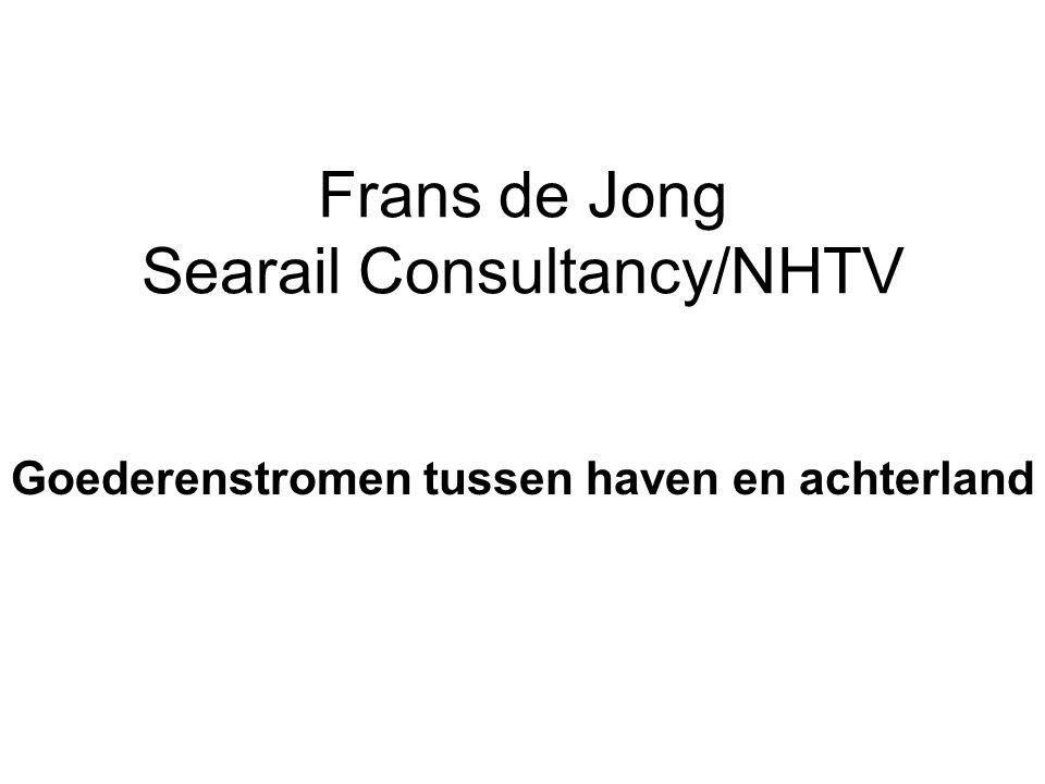 Frans de Jong Searail Consultancy/NHTV