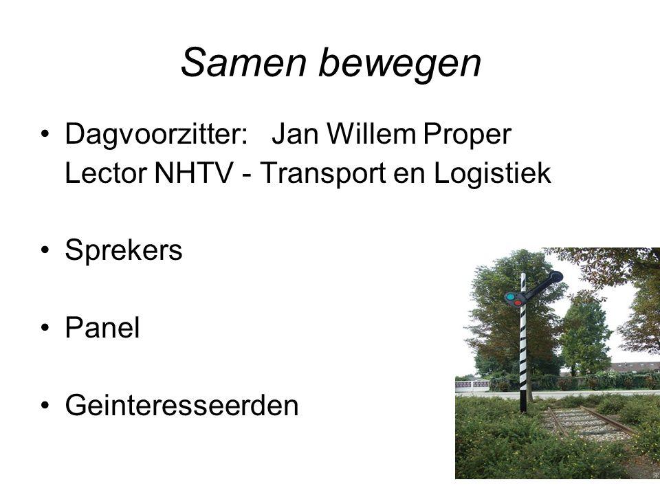 Samen bewegen Dagvoorzitter: Jan Willem Proper