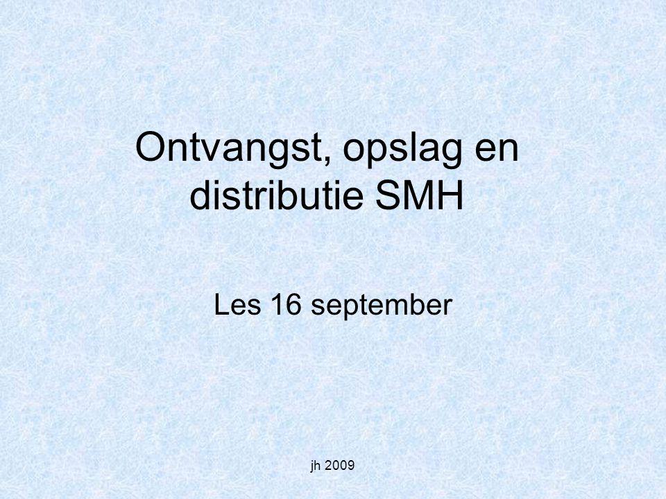 Ontvangst, opslag en distributie SMH