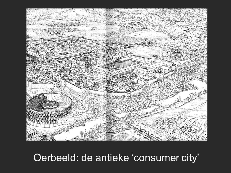 Oerbeeld: de antieke 'consumer city'