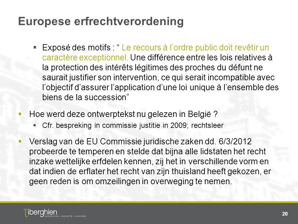 Europese erfrechtverordening