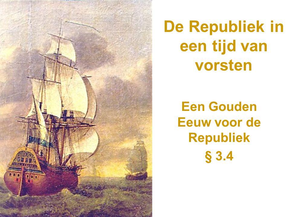 De Republiek in een tijd van vorsten