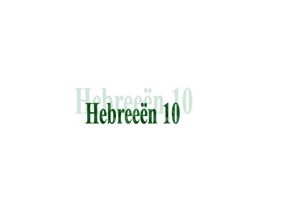 Hebreeën 10