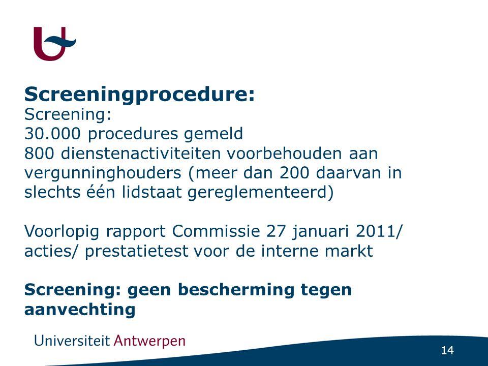 De Vlaamse (lokale)screening:bedenkingen