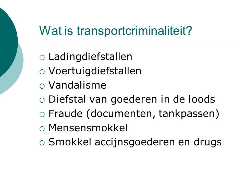 Wat is transportcriminaliteit