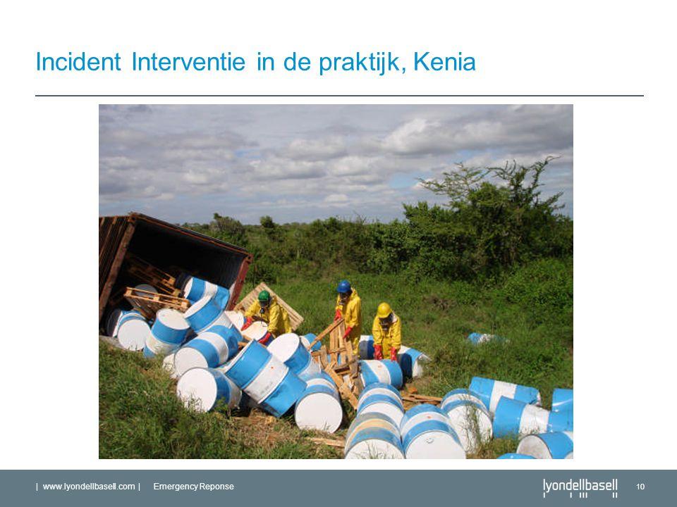Incident Interventie in de praktijk, Kenia