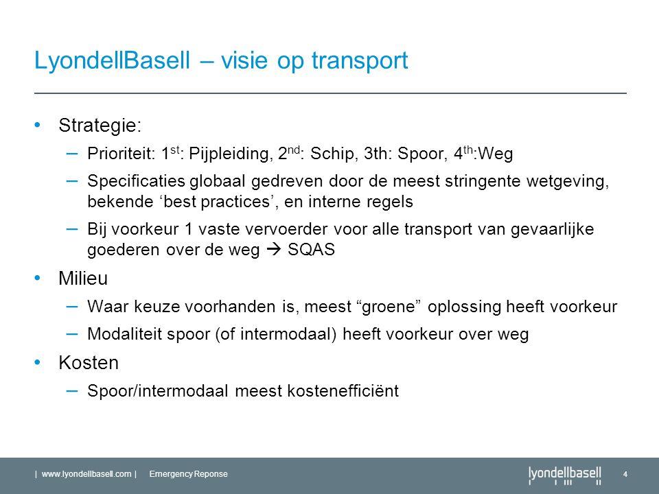 LyondellBasell – visie op transport