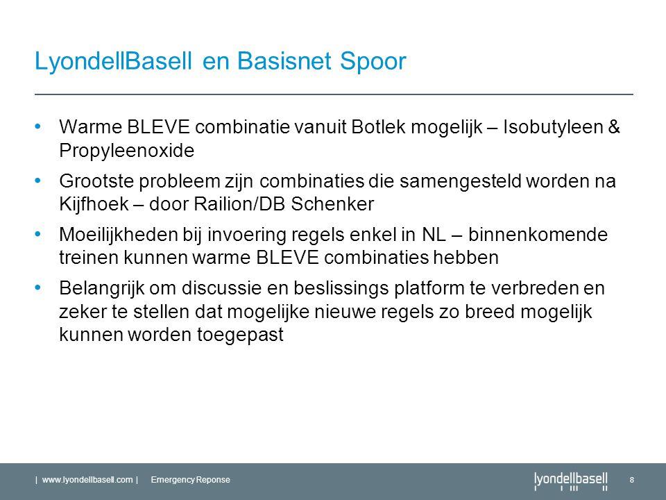 LyondellBasell en Basisnet Spoor