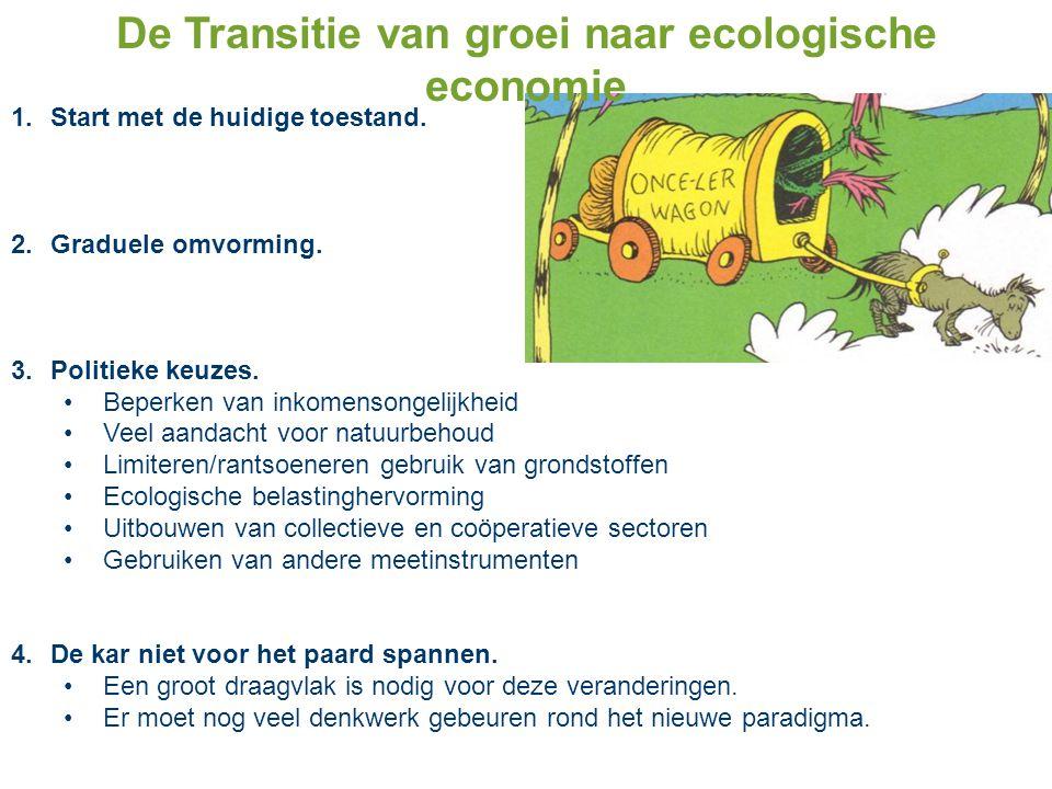 De Transitie van groei naar ecologische economie