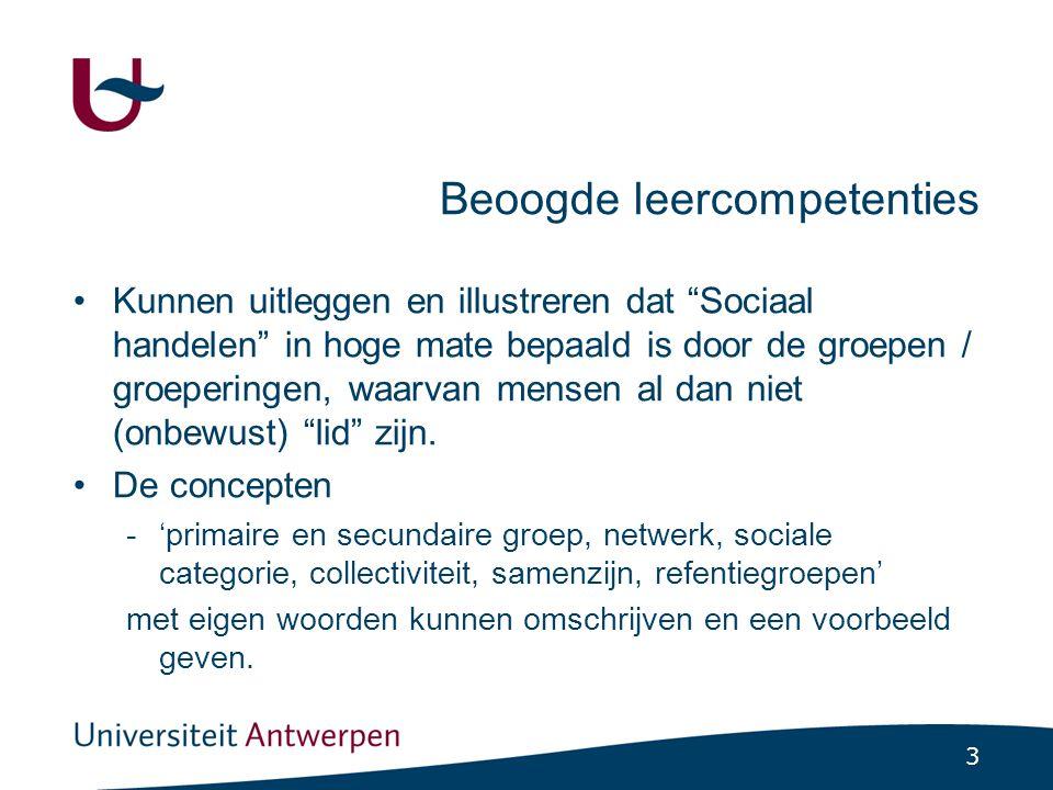 Sociologische premisse