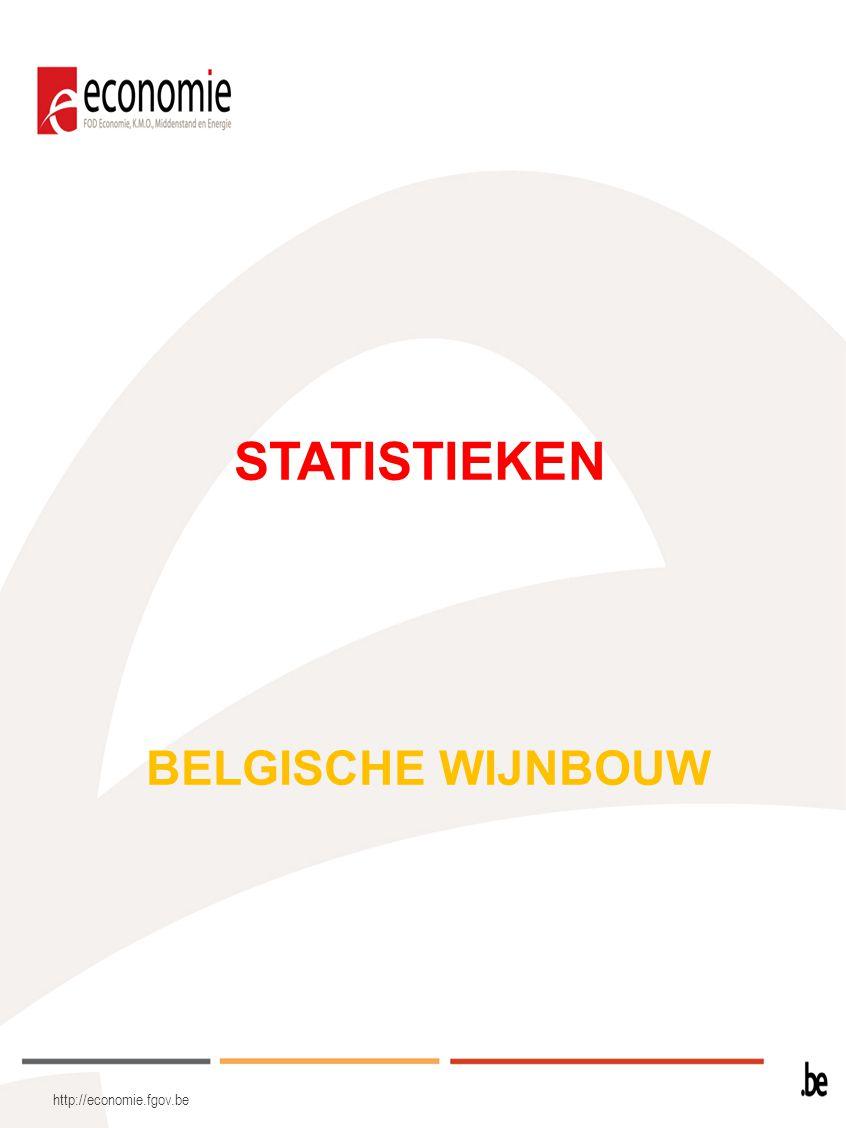 STATISTIEKEN BELGISCHE WIJNBOUW http://economie.fgov.be
