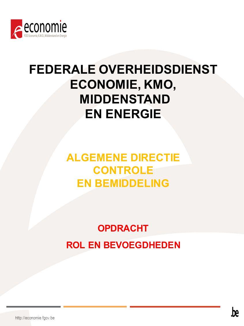 FEDERALE OVERHEIDSDIENST ECONOMIE, KMO,