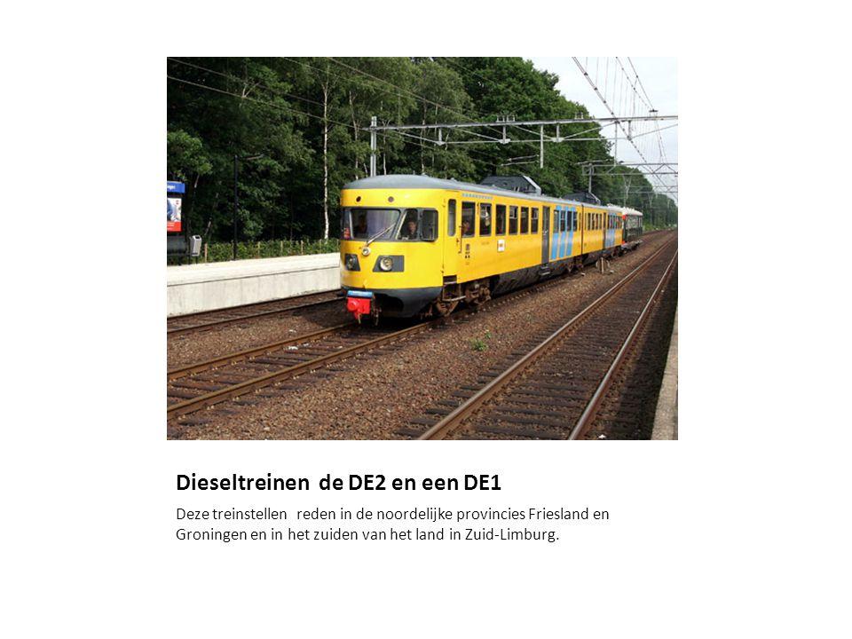 Dieseltreinen de DE2 en een DE1