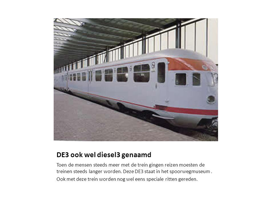 DE3 ook wel diesel3 genaamd