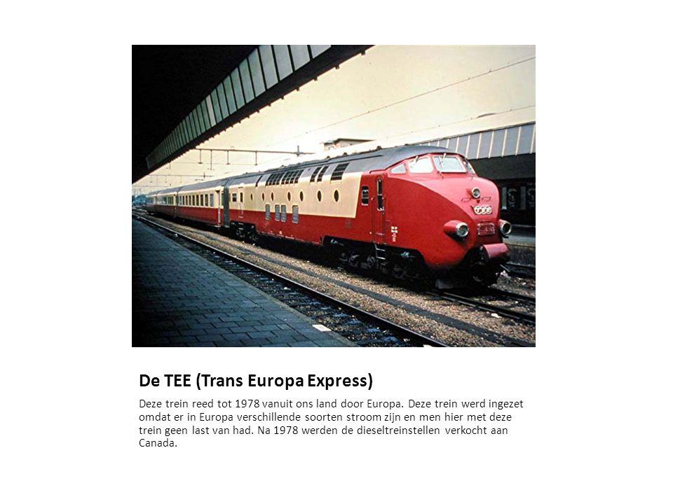 De TEE (Trans Europa Express)