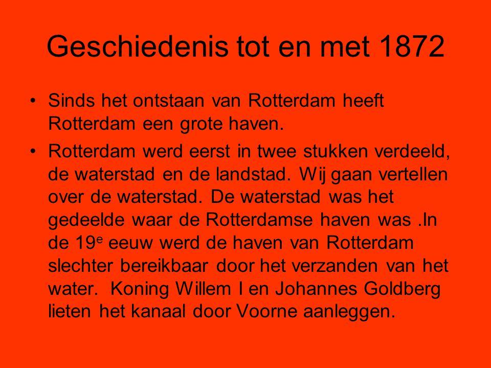 Geschiedenis tot en met 1872