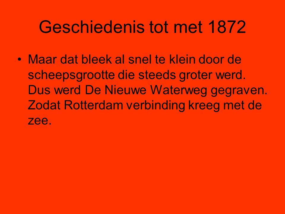 Geschiedenis tot met 1872