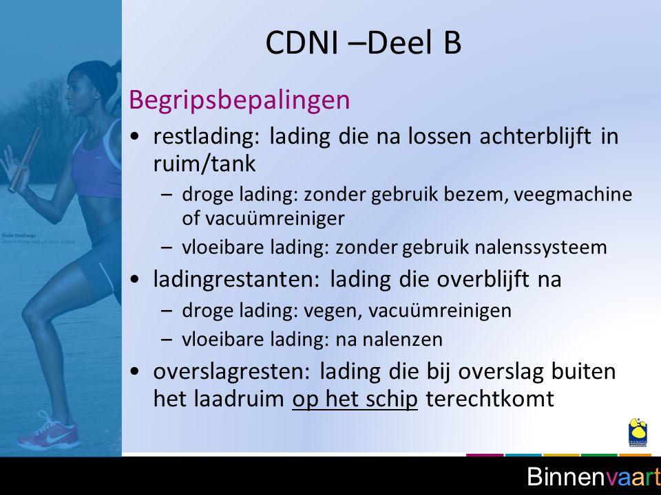 CDNI –Deel B Begripsbepalingen