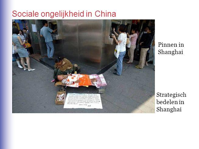 Sociale ongelijkheid in China