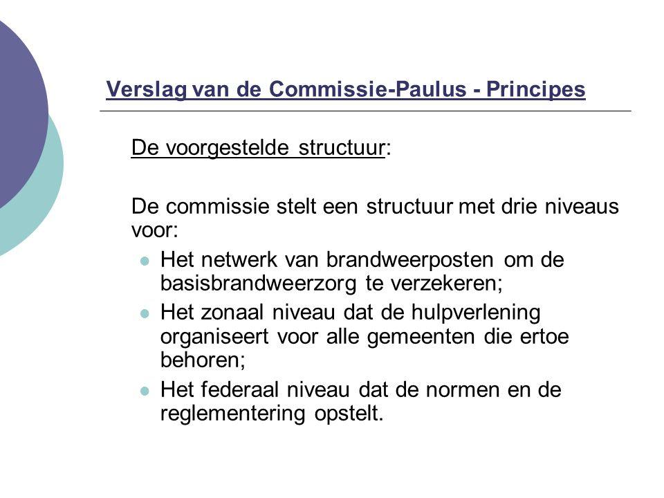 Verslag van de Commissie-Paulus - Principes