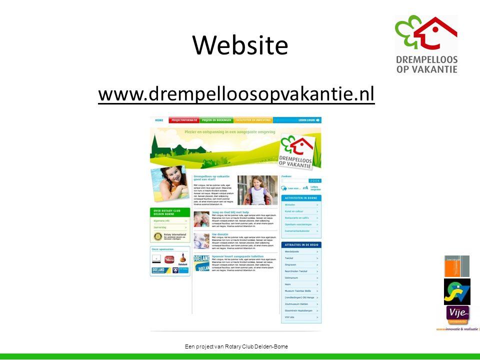 Website www.drempelloosopvakantie.nl