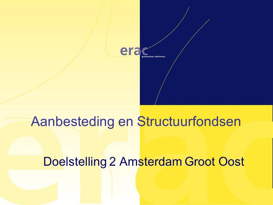 Doelstelling 2 Amsterdam Groot Oost