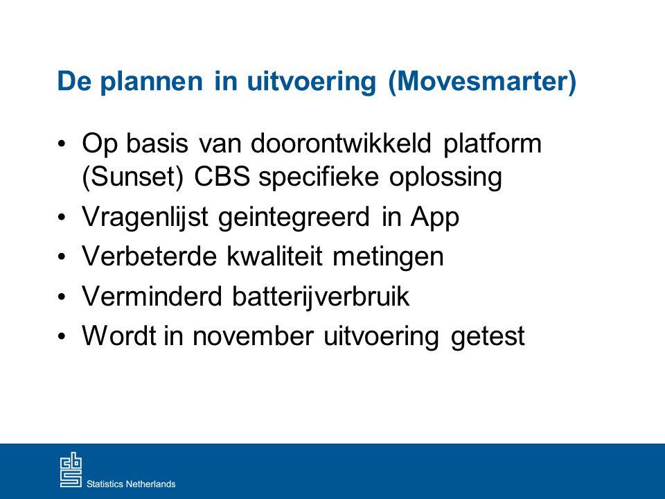 De plannen in uitvoering (Movesmarter)
