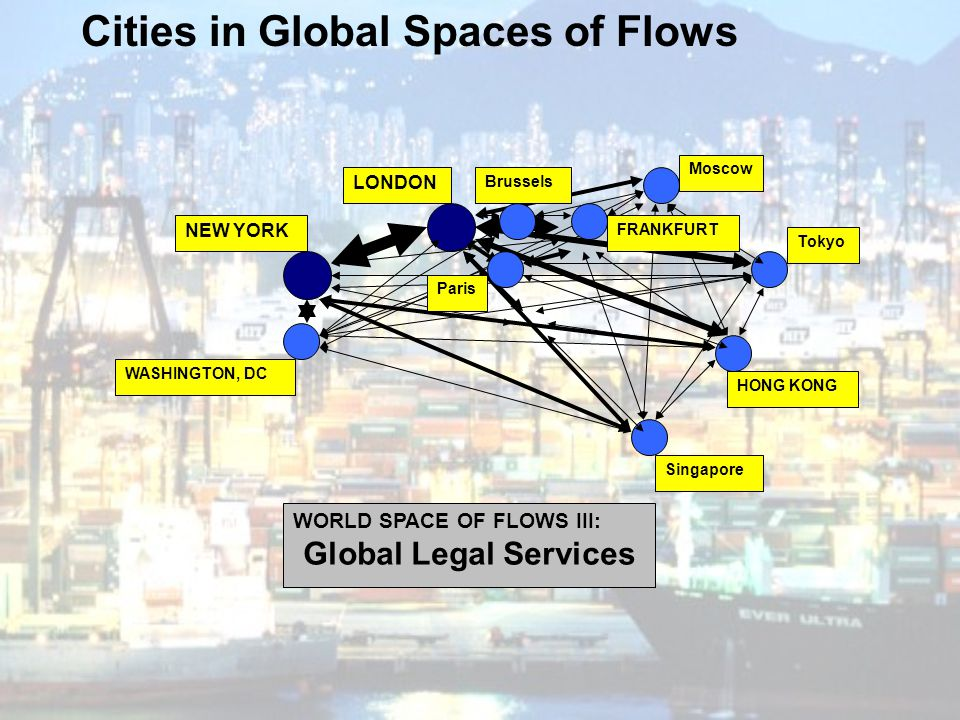Cities in Global Spaces of Flows