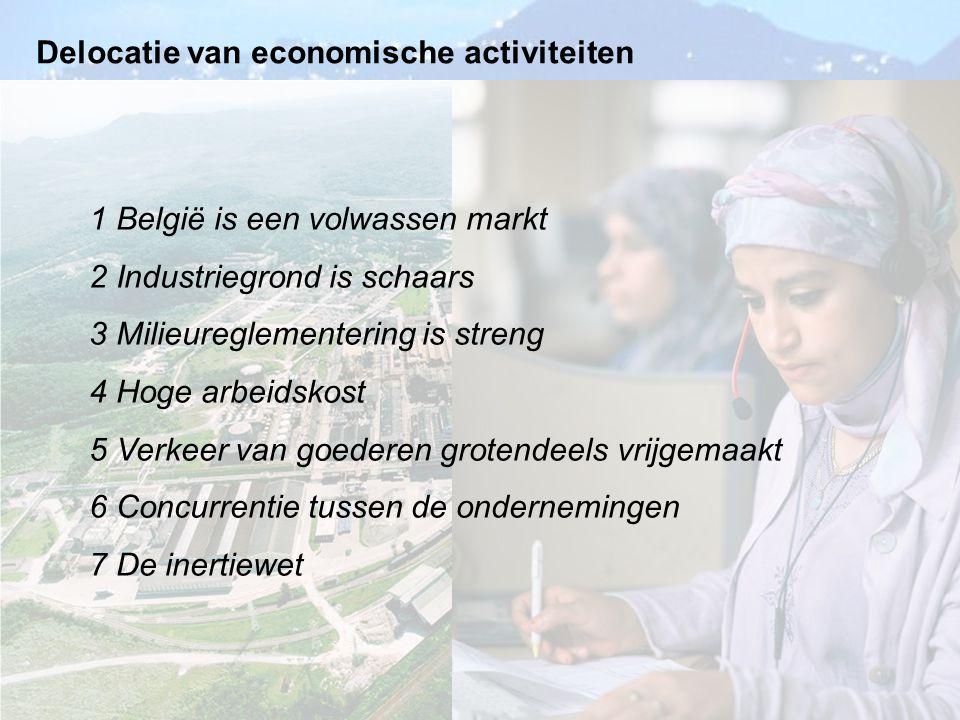 Delocatie van economische activiteiten