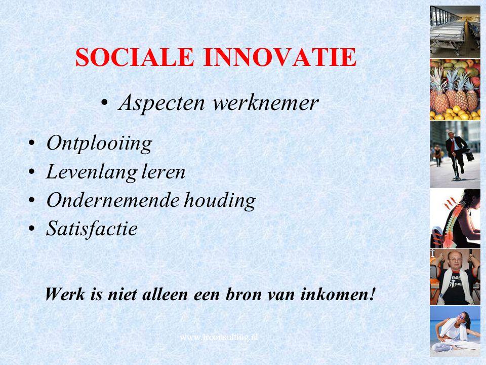 Werk is niet alleen een bron van inkomen!