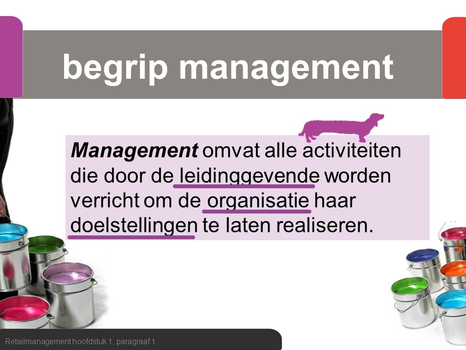 begrip management