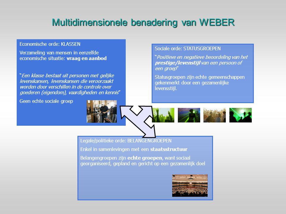 Multidimensionele benadering van WEBER