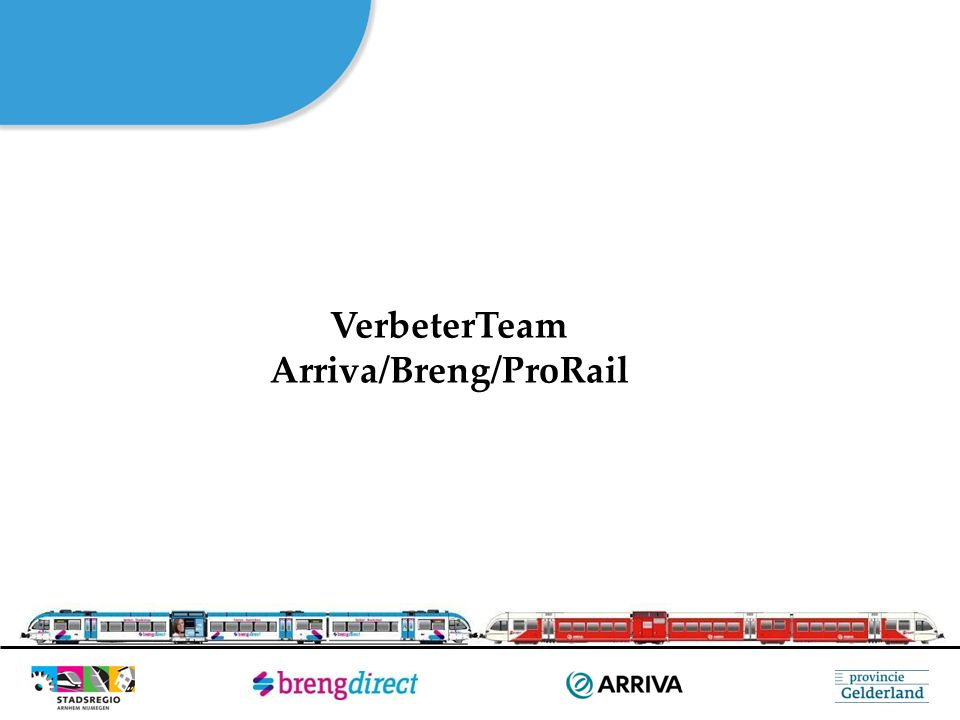 Arriva/Breng/ProRail