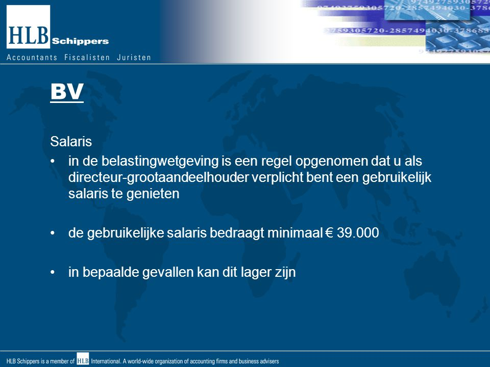 BV Salaris.