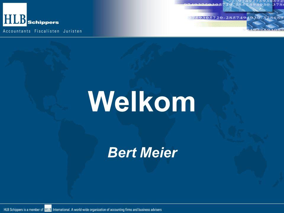 Welkom Bert Meier