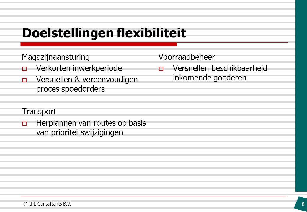 Doelstellingen flexibiliteit