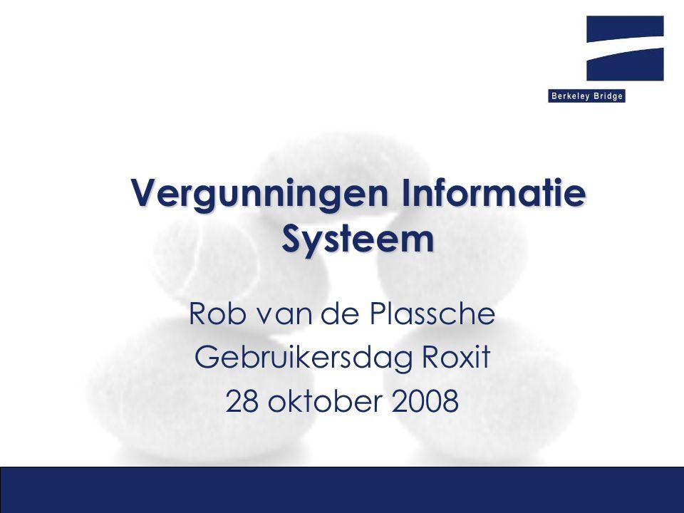 Vergunningen Informatie Systeem